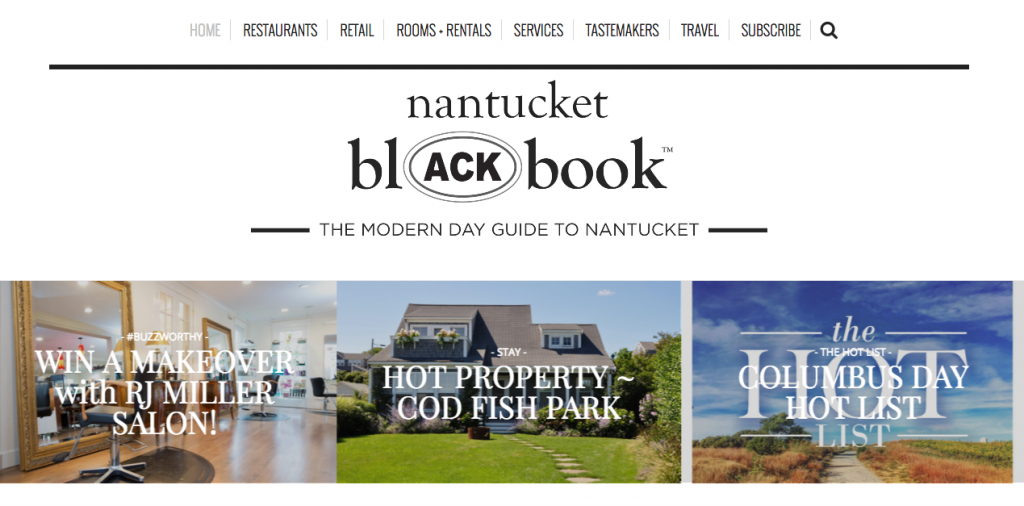 Nantucket blACKbook